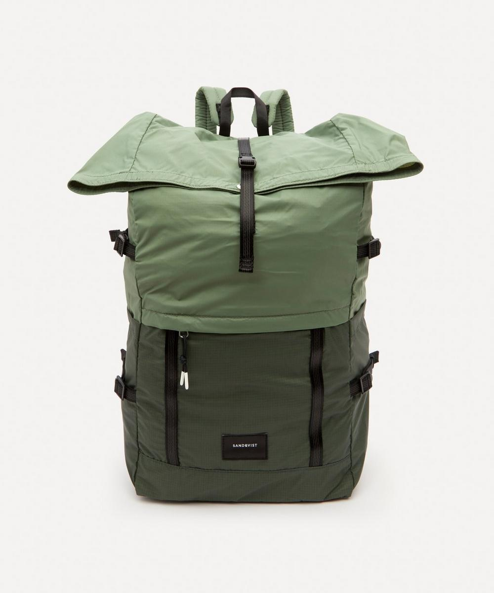Sandqvist - Bernt Lightweight Roll Top Ripstop Backpack