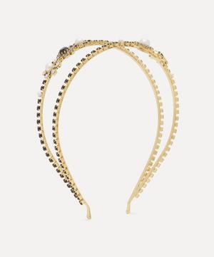 Crystal Cluster Double Headband