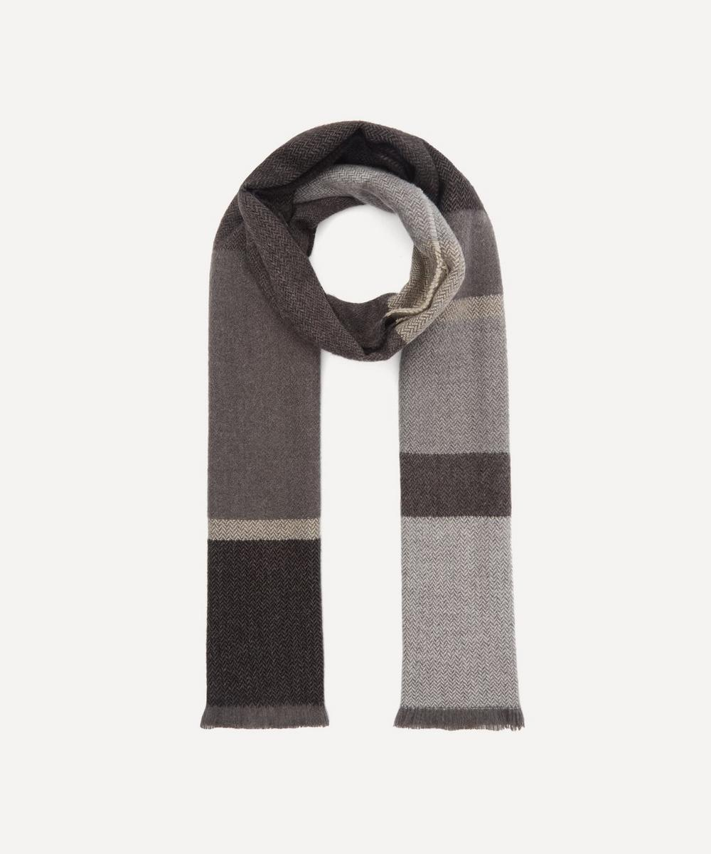 Nick Bronson - Block Stripe Herringbone Scarf