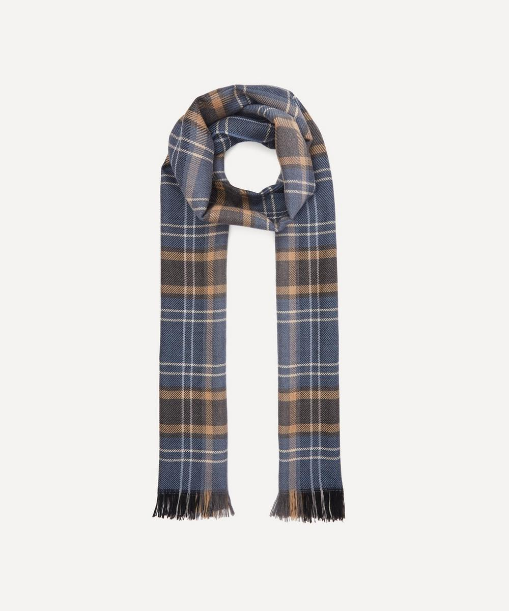 Nick Bronson - Checked Wool Scarf