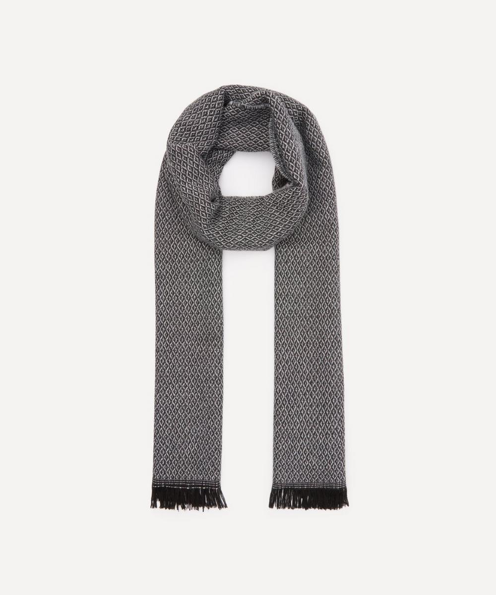 Nick Bronson - Wool-Blend Diamond Pattern Scarf