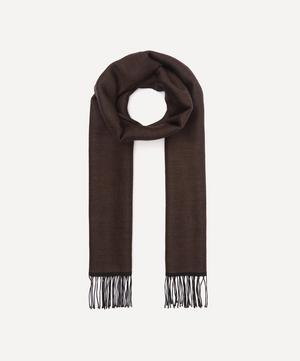 Double Faced Wool Scarf
