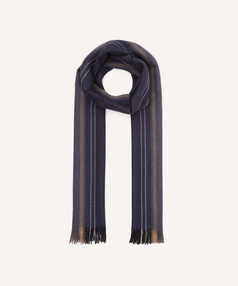 Nick Bronson - Striped Wool Scarf