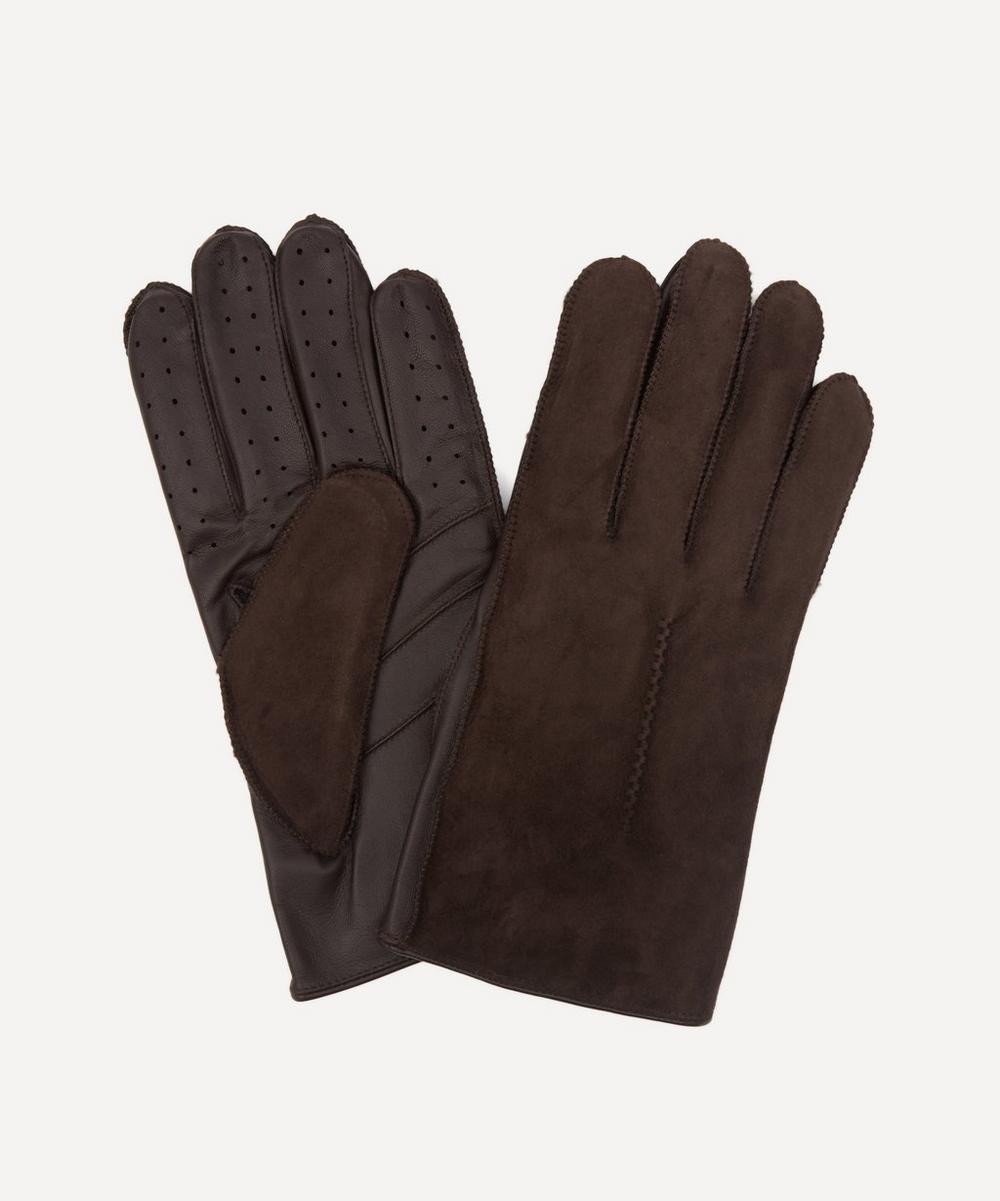 Dents - Pambrey Sheepskin Touchscreen Leather Gloves