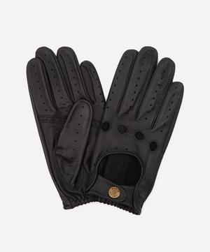 Silverstone Touchscreen Leather Driving Gloves