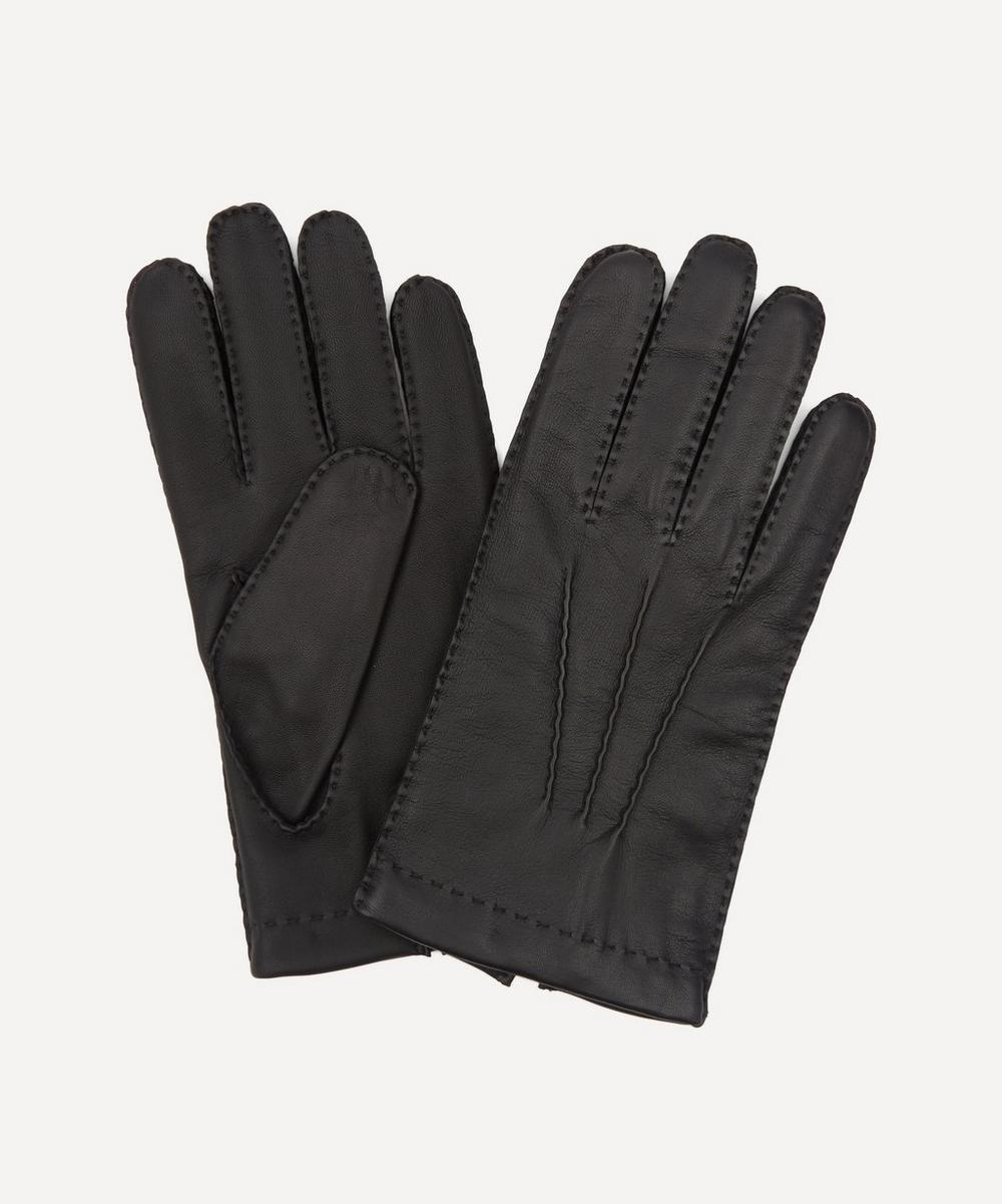 Dents - Shaftesbury Cashmere-Lined Touchscreen Leather Gloves