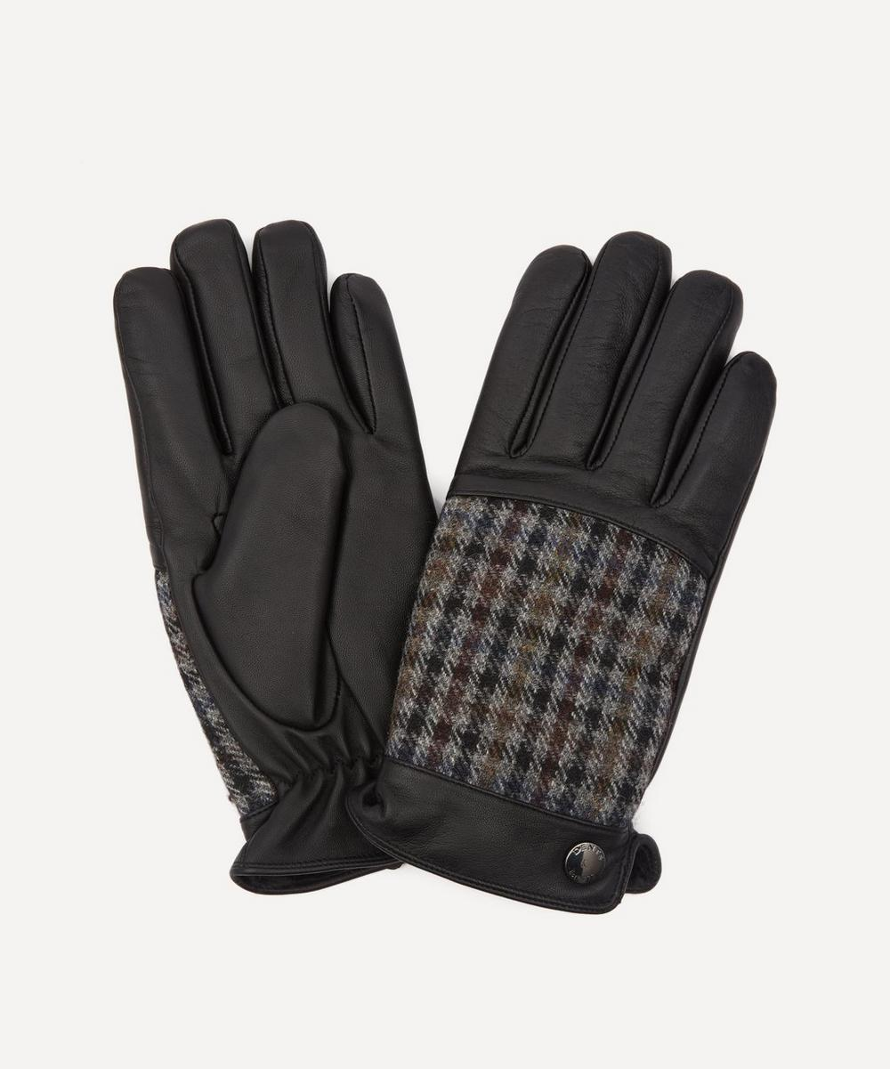 Dents - Devon Abraham Moon Dogtooth and Leather Gloves