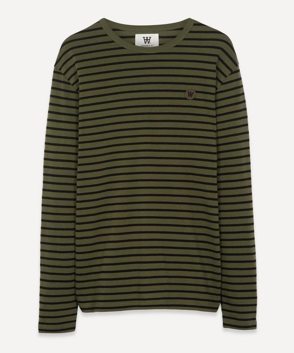 Wood Wood - Mel AA Long-Sleeve Striped T-Shirt