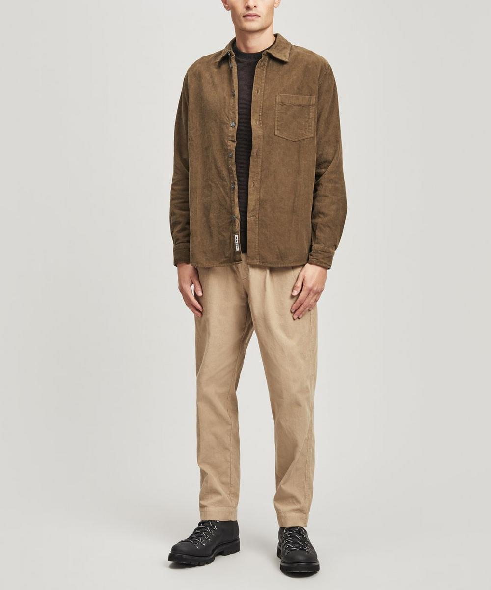 Wood Wood - Aske Long Sleeve Corduroy Shirt