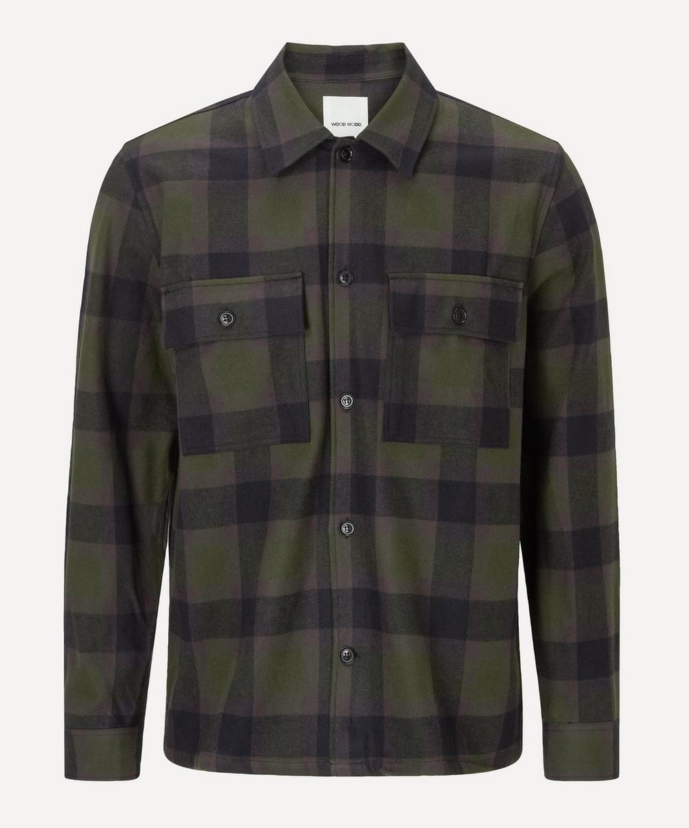Wood Wood - Franco Checked Flannel Shirt