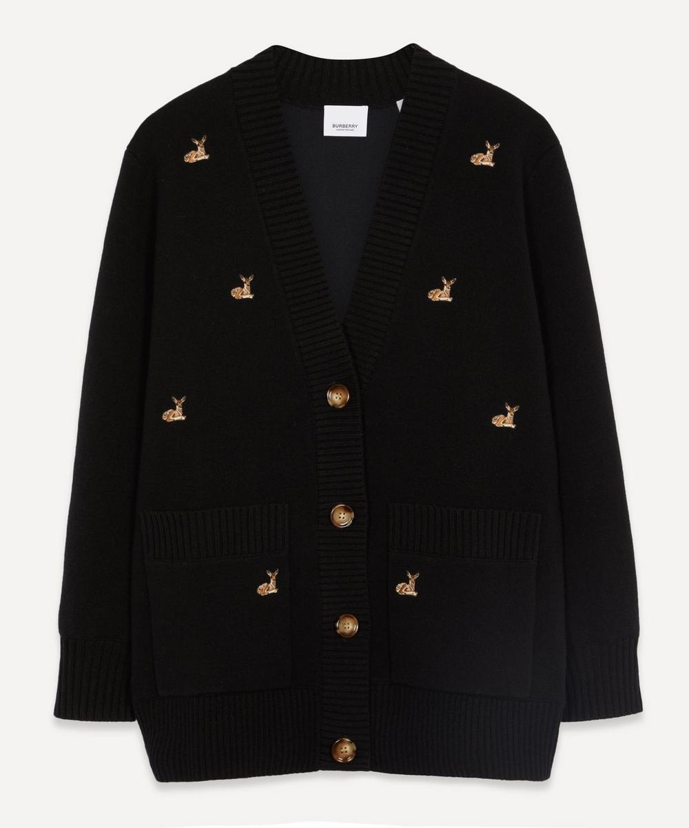 Burberry - Deer Motif Cardigan