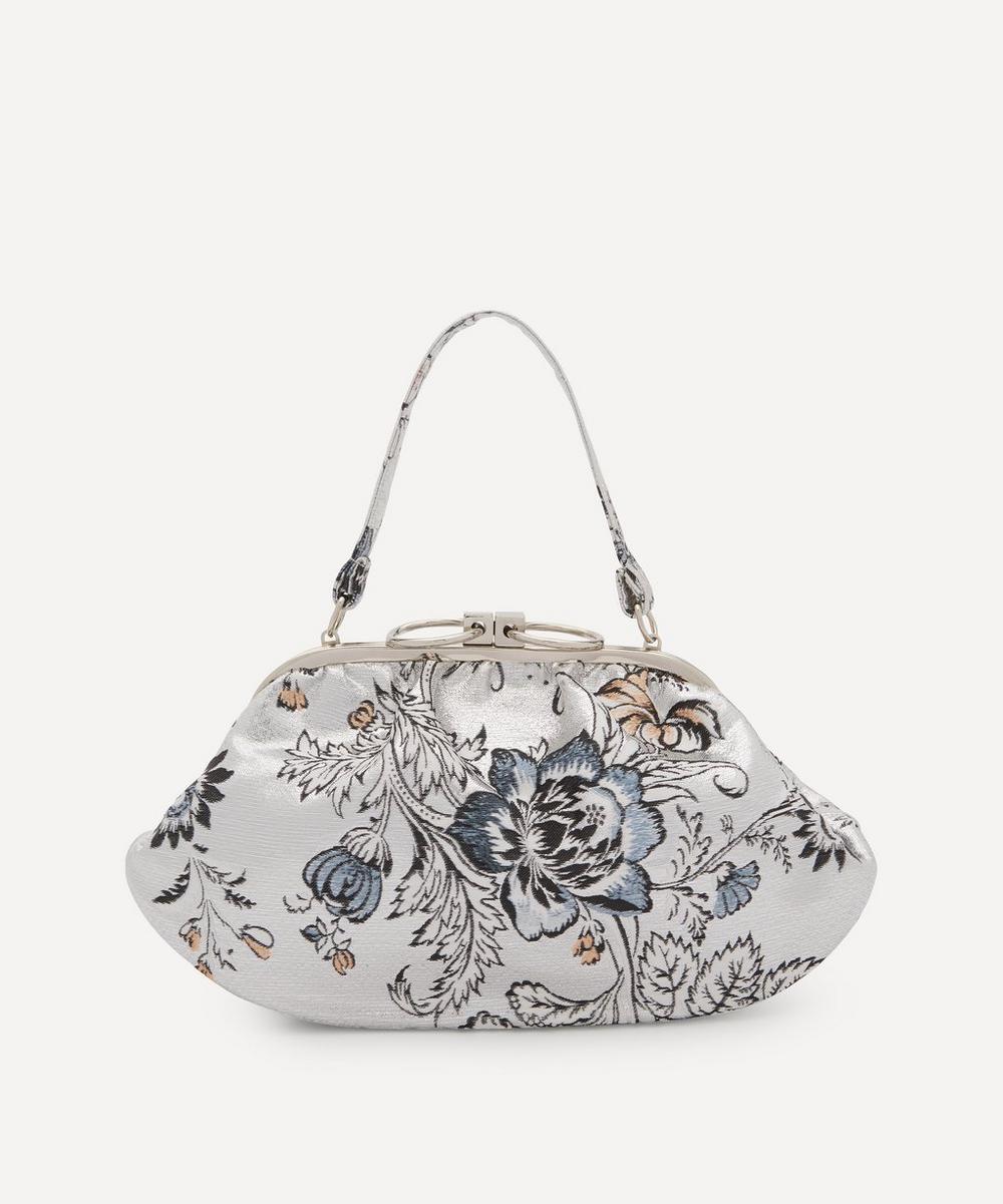 Erdem - Floral Jacquard Clutch Bag
