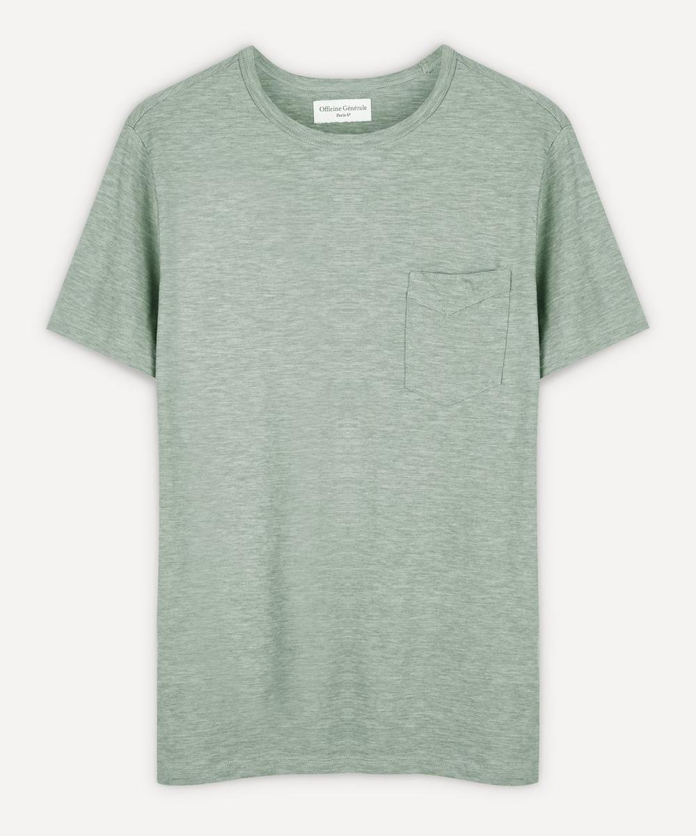 Officine Générale - Space Dye Japanese Marl T-Shirt