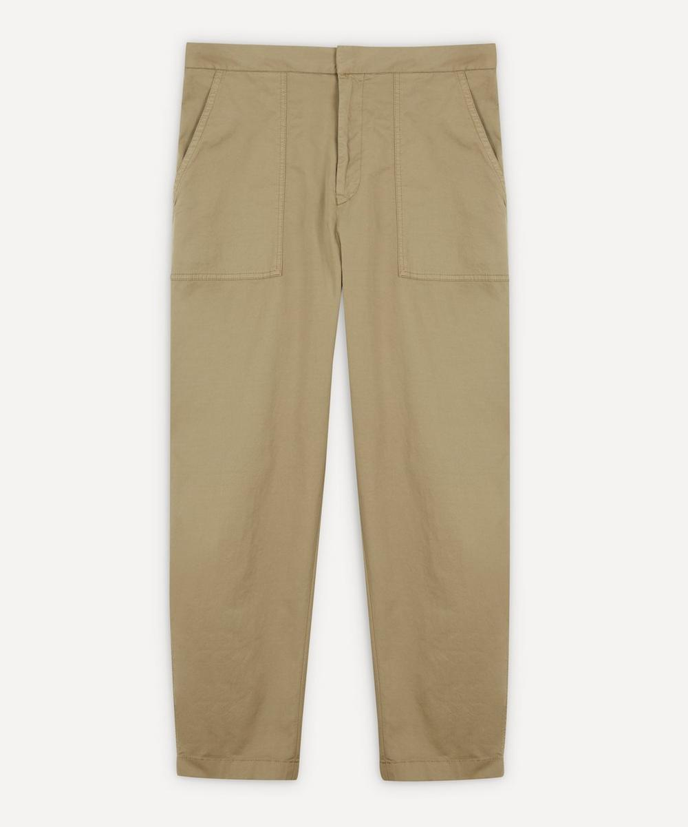 Officine Générale - Paolo Fatigue Italian Cotton Chino Trousers
