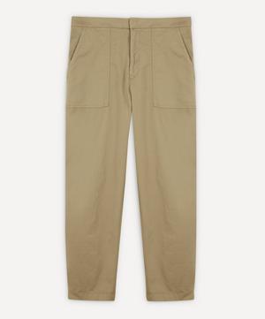 Paolo Fatigue Italian Cotton Chino Trousers