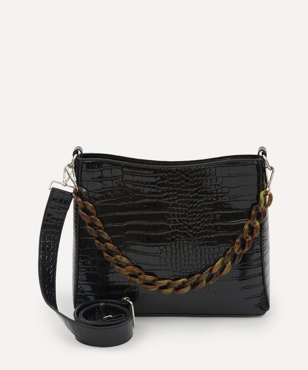 HVISK - Amble Croco Chain Tote Bag