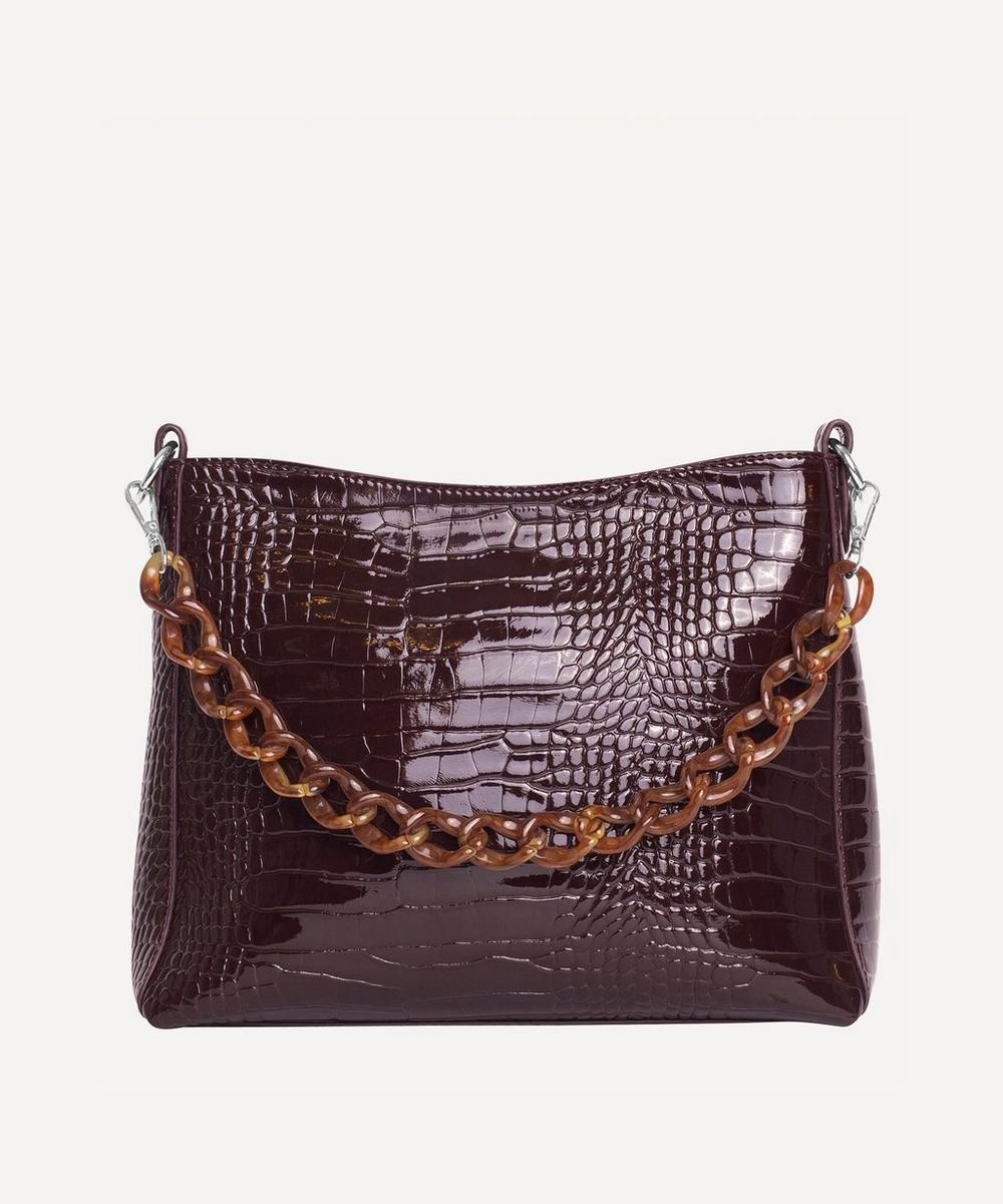 HVISK - Amble Croco Chain Tote Bag