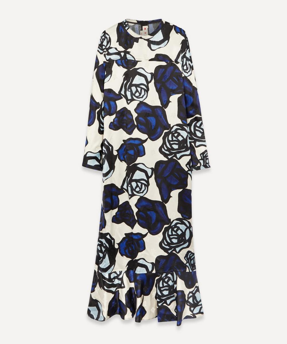 Marni - Bold Rose Print Dress