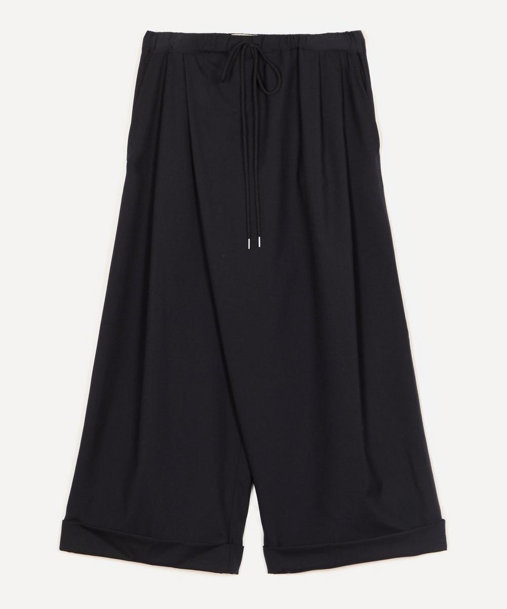 Marni - Tropical Wool Wide-Leg Trousers