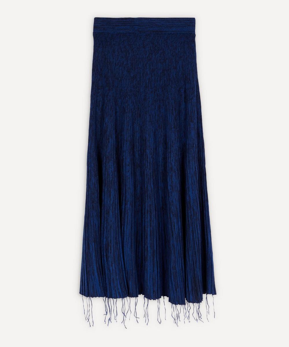 Marni - Raw Hem Melange Knit Skirt