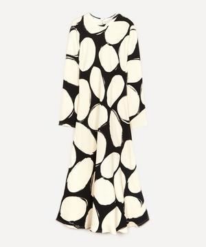 Pebbles Print Midi-Dress