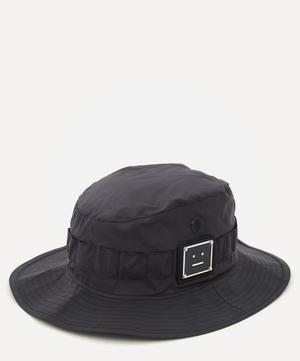 Logo Plaque Bucket Hat