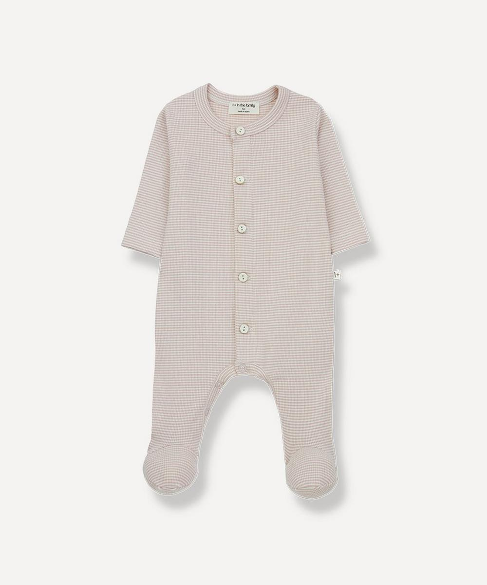 1+ In The Family - Delphine Organic Cotton Footed Jumpsuit 3-18 Months