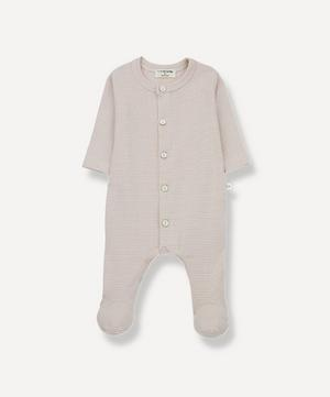 Delphine Organic Cotton Footed Jumpsuit 3-18 Months