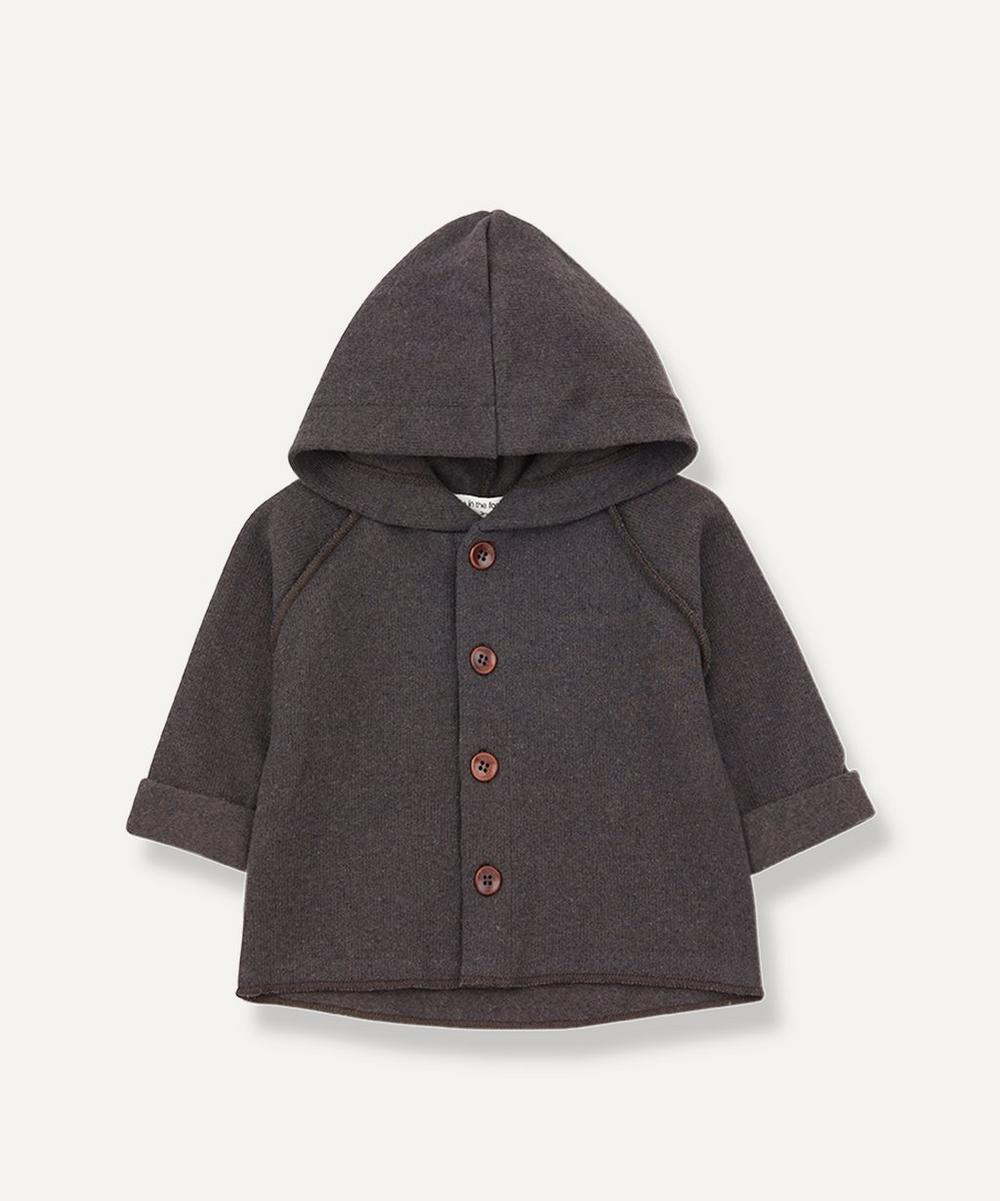 1+ In The Family - Sau Hood Jacket 3-24 Months