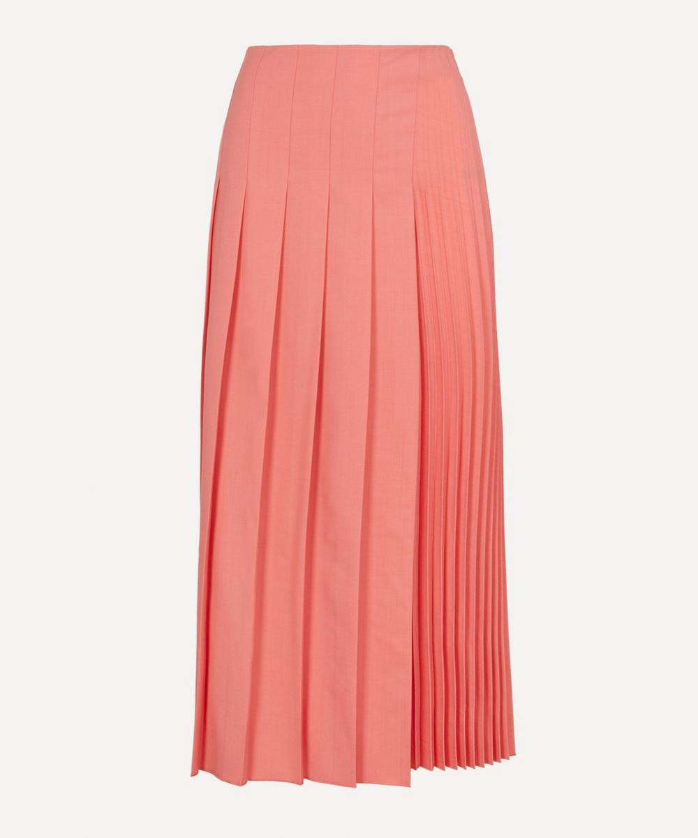 Joseph - Sallis Pleated Wool Maxi-Skirt