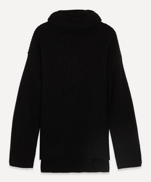 Chunky Wool Turtle-Neck Jumper