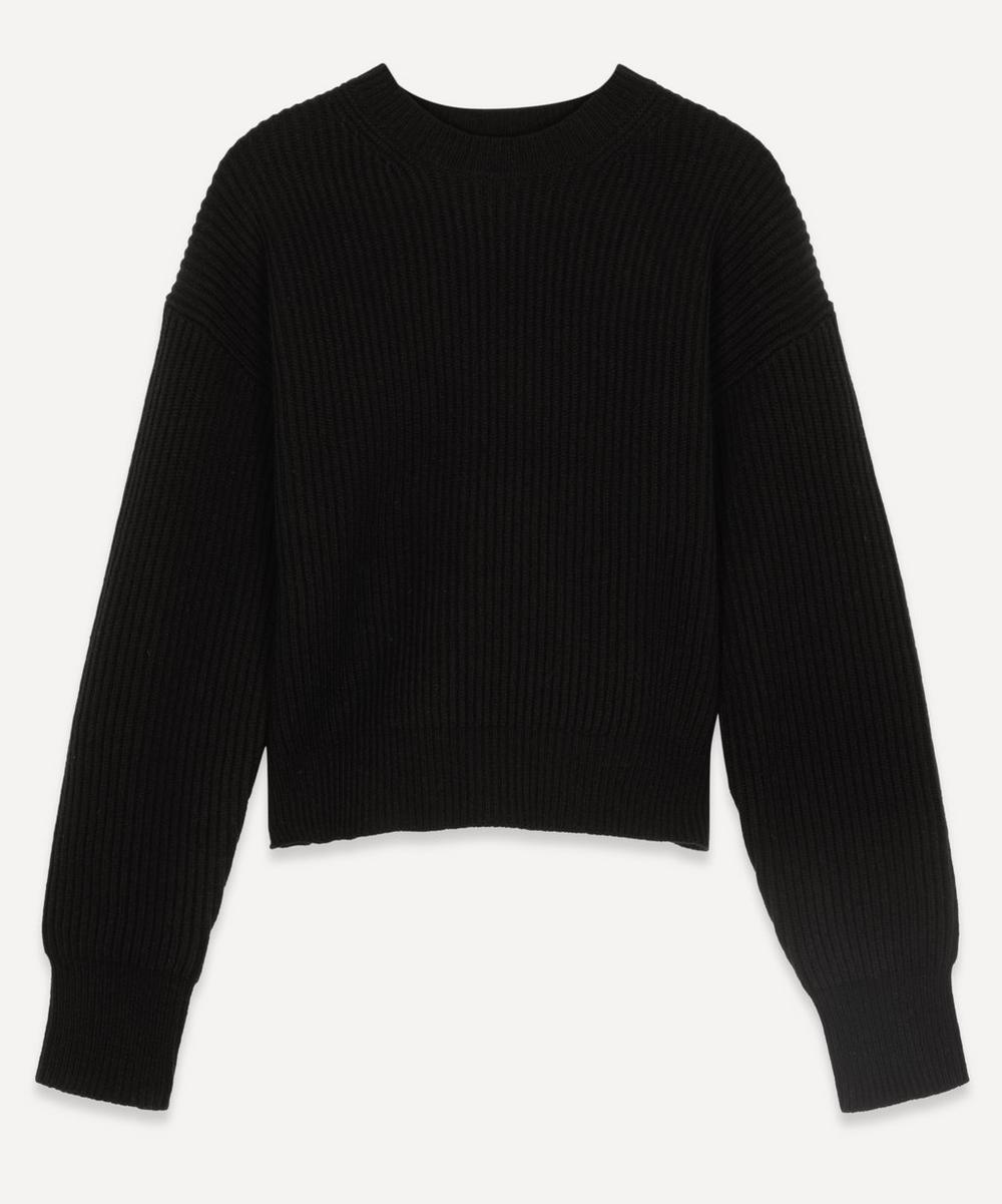 Joseph - Crew-Neck Rib Wool Jumper