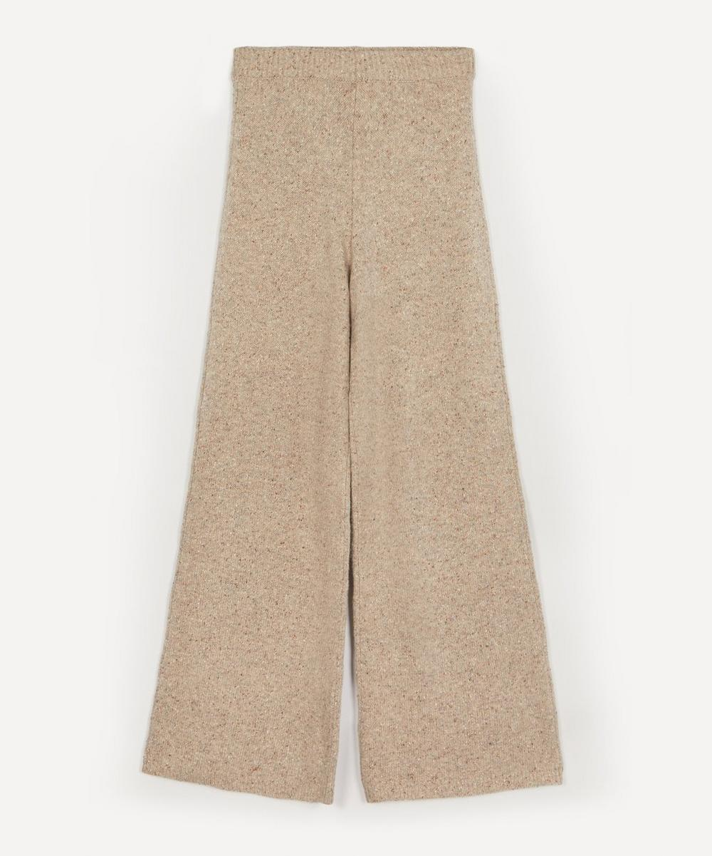 Joseph - Wide-Leg Tweed Knit Trousers