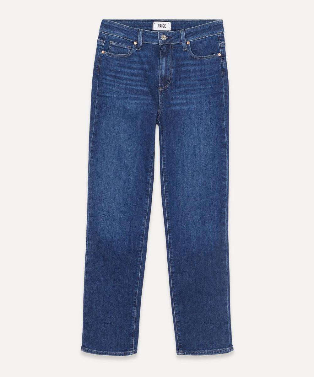 Paige - Hoxton High-Rise Straight Jeans