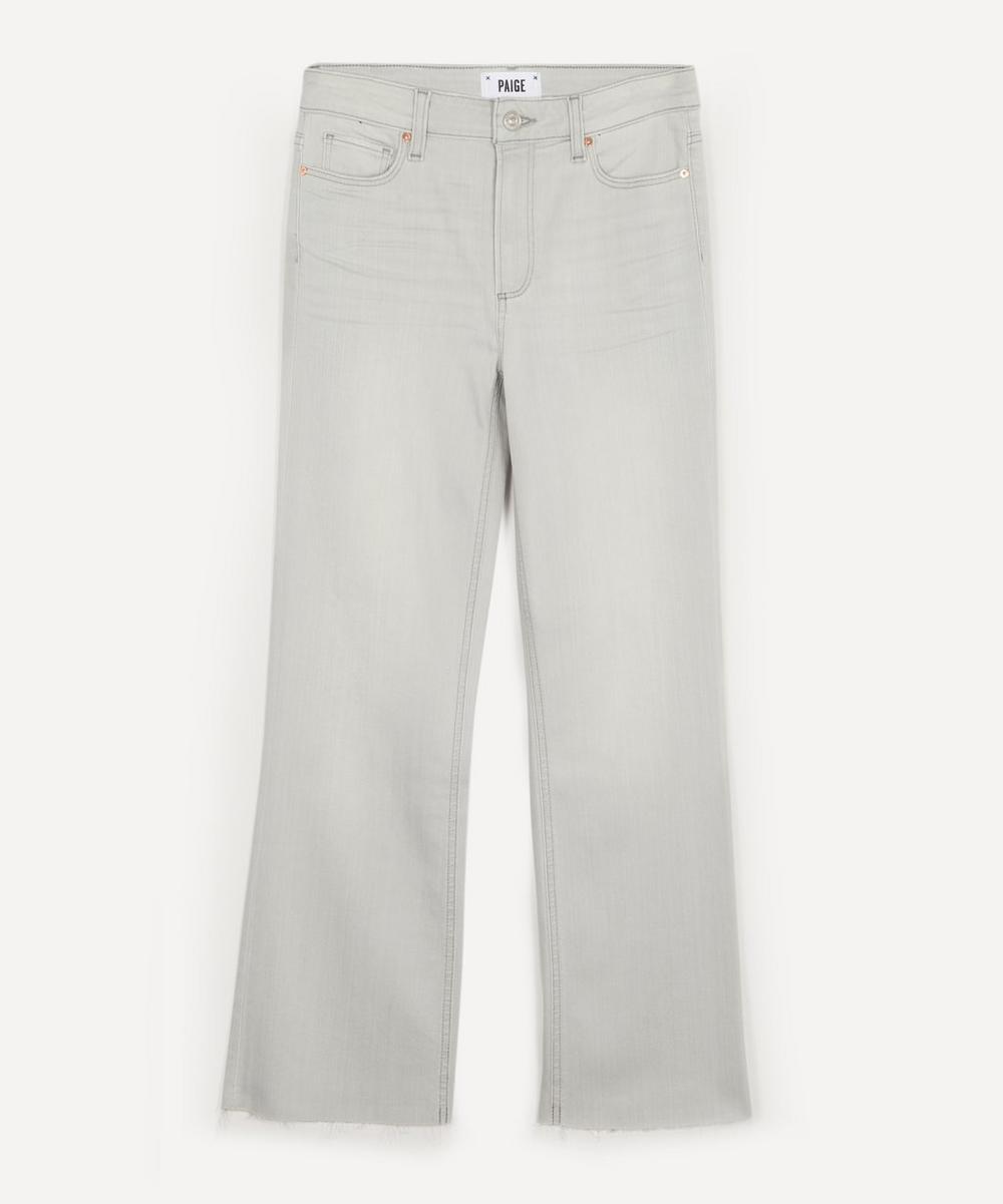 Paige - Colette Raw Hem Flare Crop Jeans