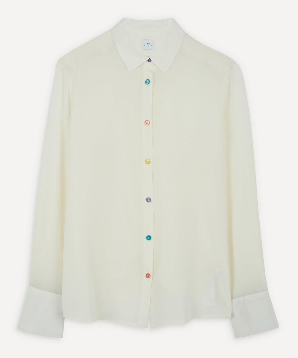 PS Paul Smith - Antique Button Silk Shirt