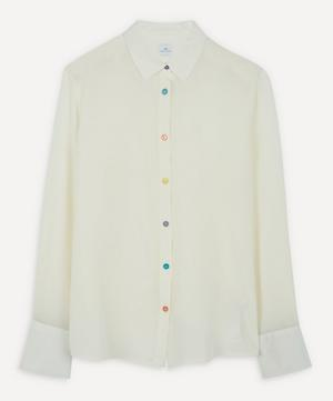 Antique Button Silk Shirt