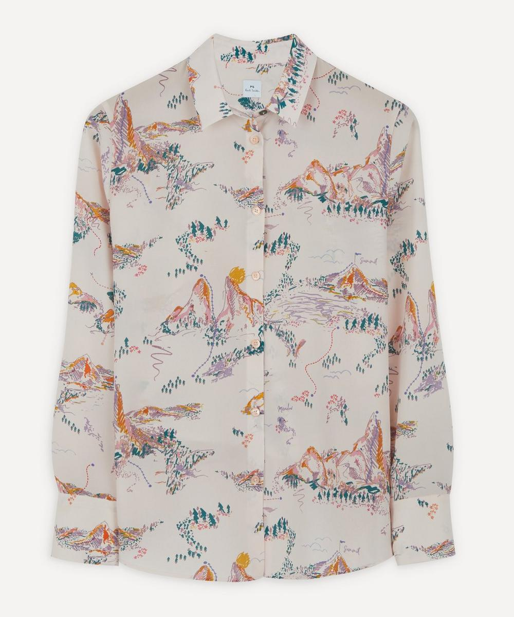 PS Paul Smith - Mountain Print Shirt