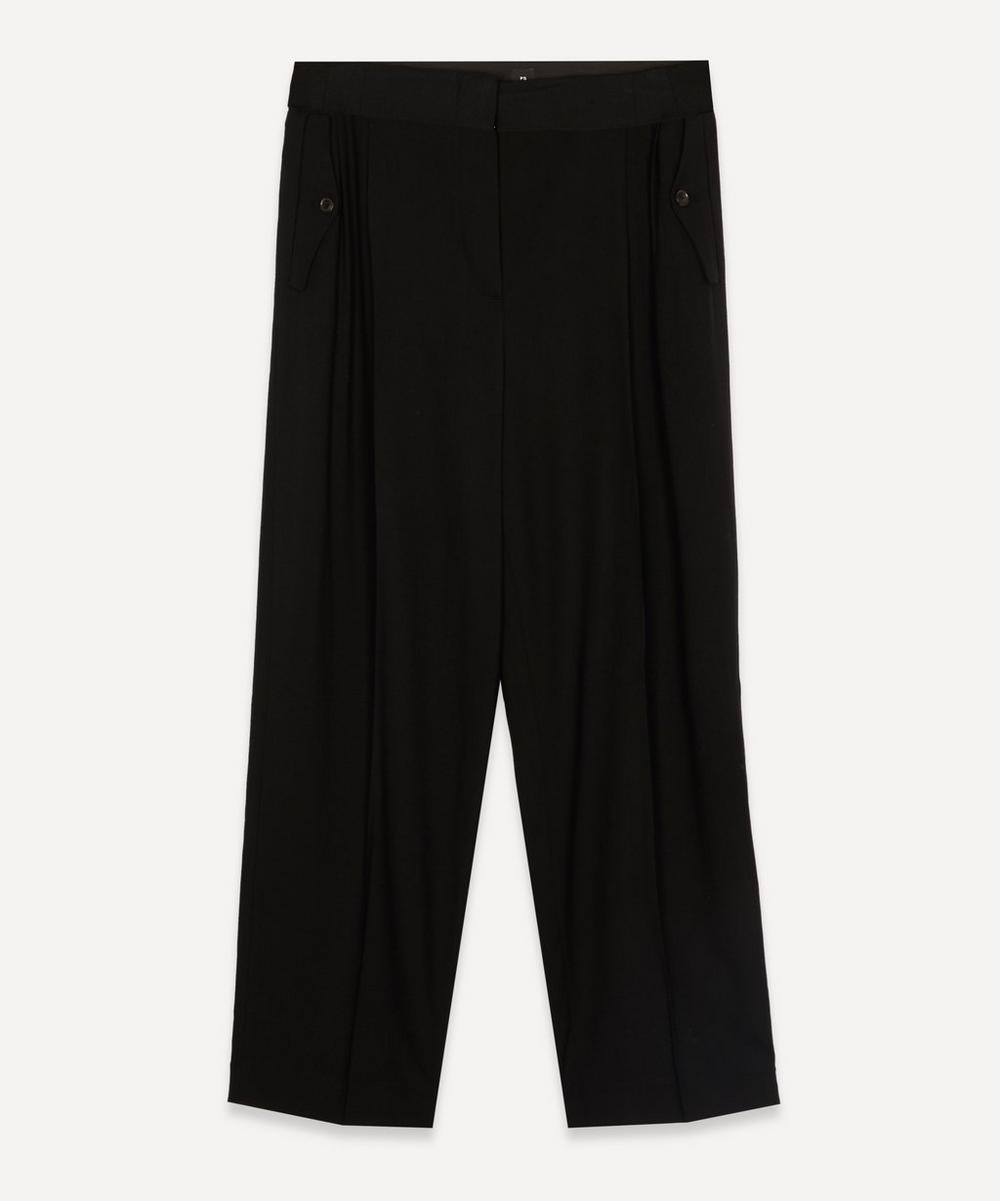 PS Paul Smith - Pleated Side Pocket Trousers