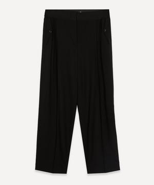 Pleated Side Pocket Trousers