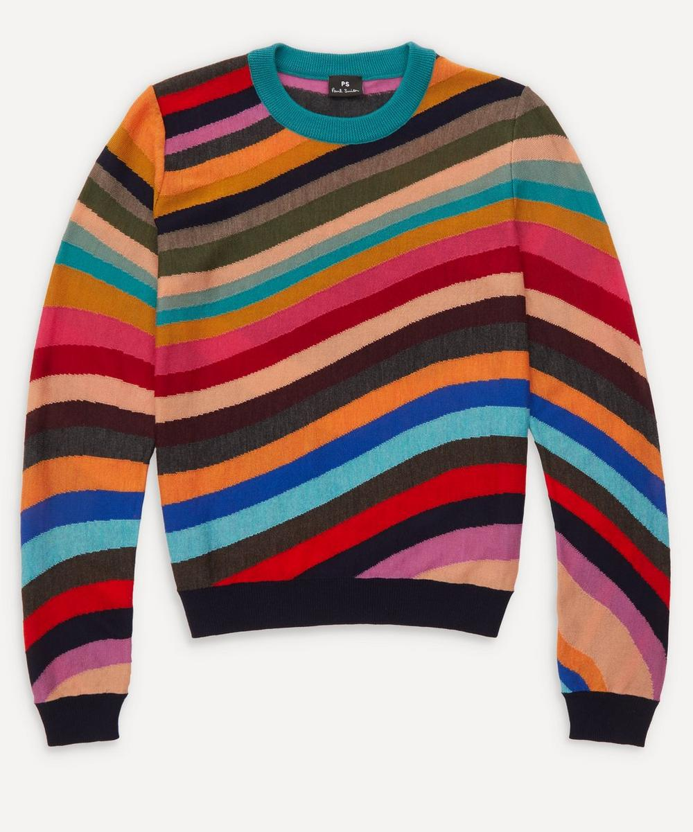 PS Paul Smith - Swirl Intarsia Knit Jumper