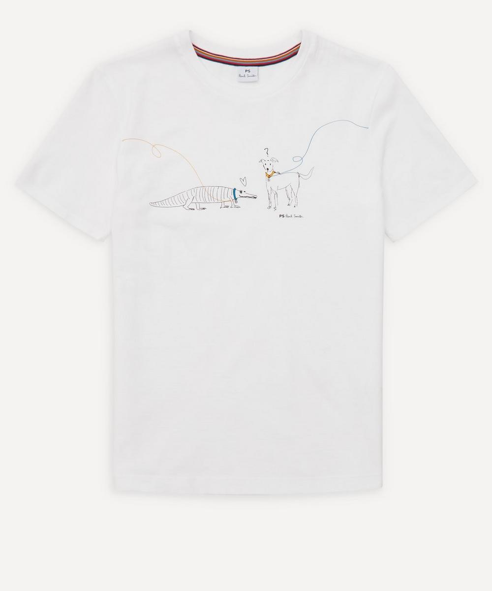 PS Paul Smith - Dog Cotton T-Shirt