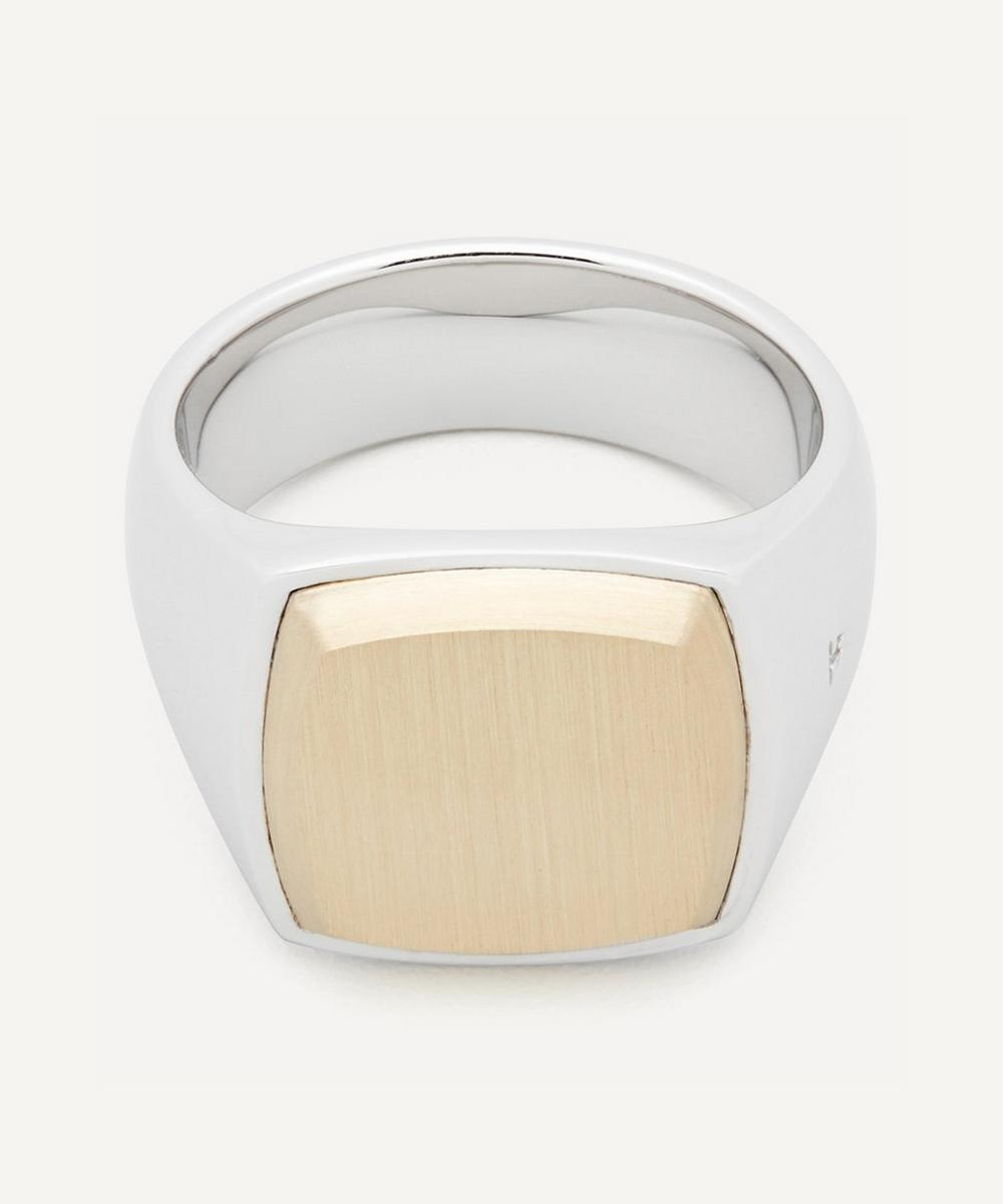 Tom Wood - Cushion Gold Top Ring