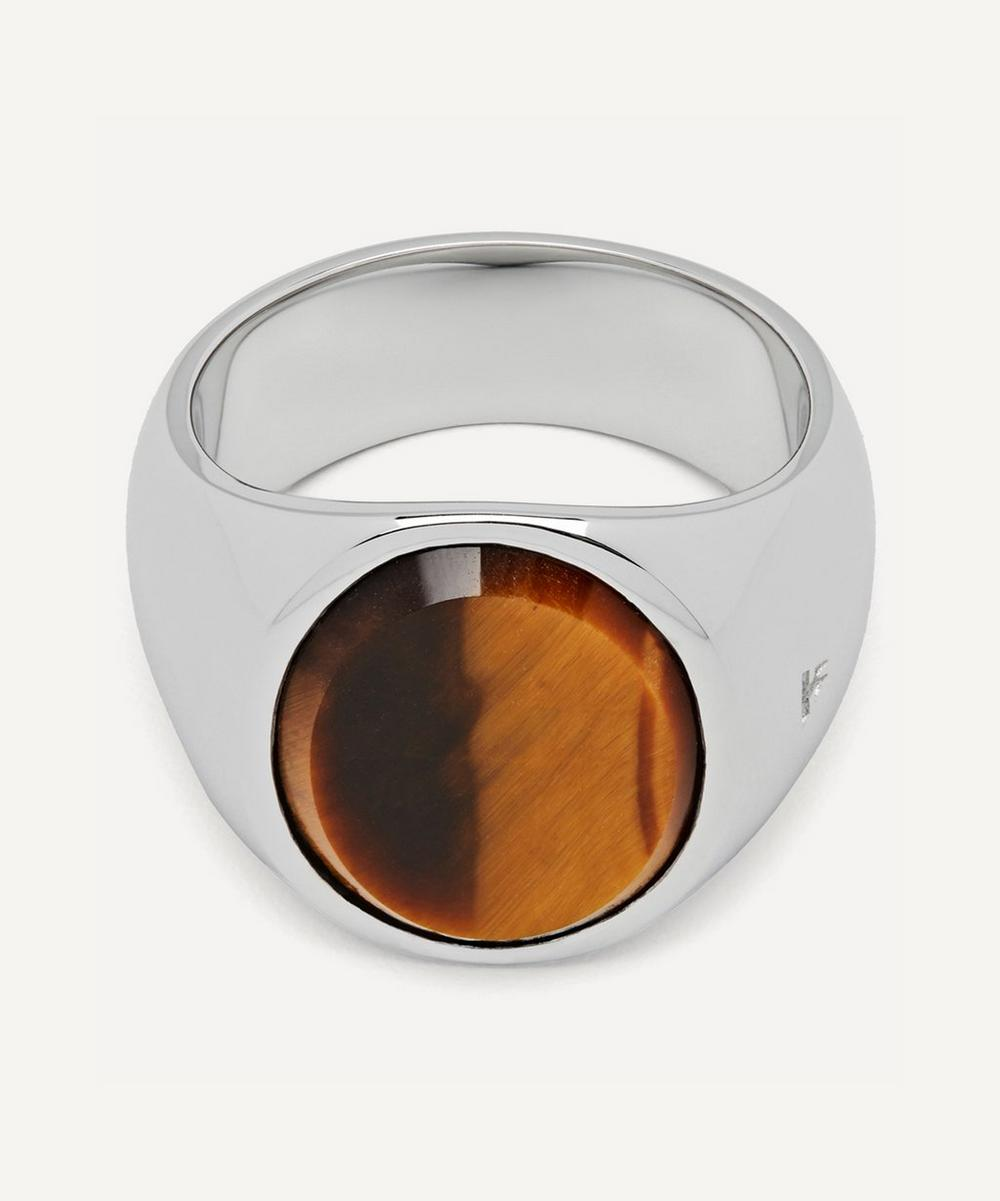Tom Wood - Oval Tiger Eye Ring