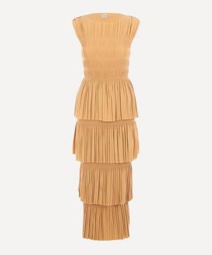 Aramon Sleeveless Ruched Dress