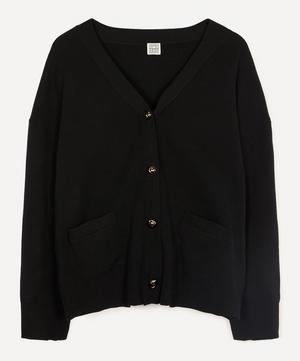 Vinci Merino Wool Cardigan