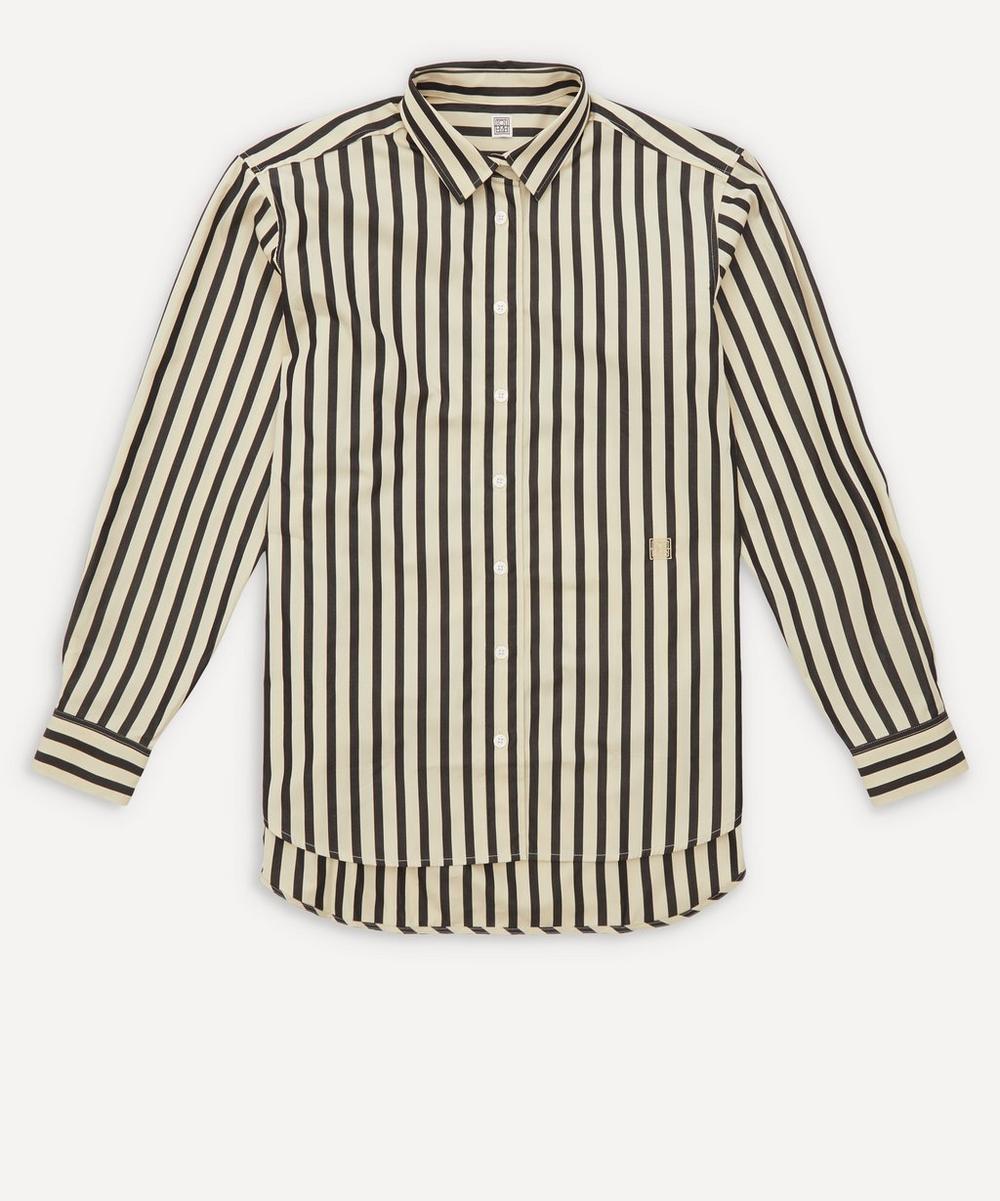 Totême - Capri Classic Striped Cotton Shirt