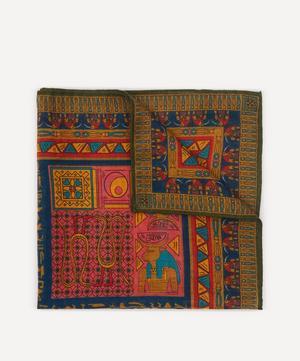 Egyptian Print Pocket Square