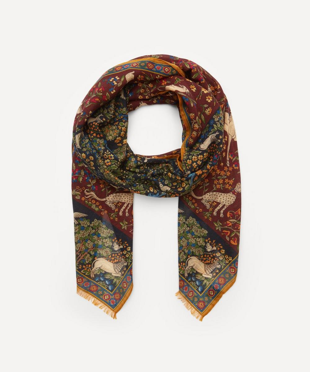 Drakes - Mythical Forest Print Scarf