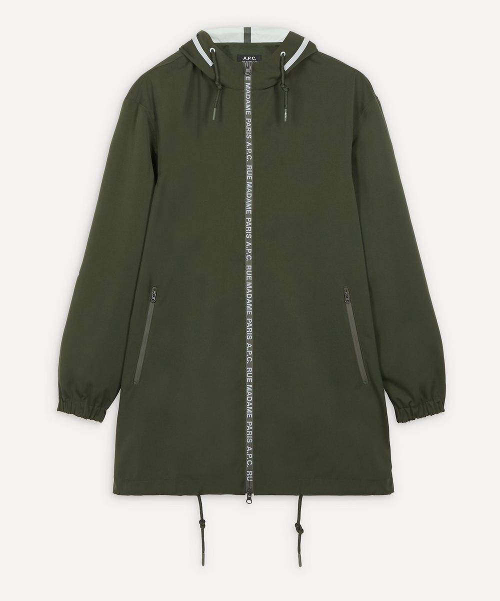 A.P.C. - Philip Logo Raincoat